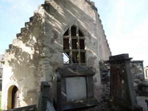 Photograph of the Chapel at St Mary's Kirkyard Banff