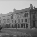 Black and White photograph of Banff Trades Hall, Low Street