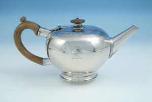 photograph of Banff Silver Teapot