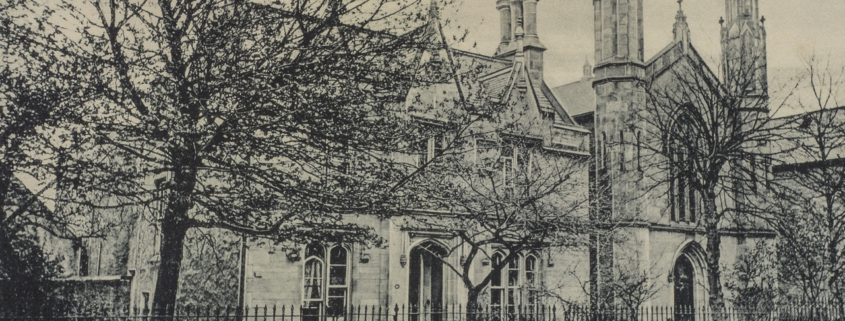Black and White photograph of St Andrews Episcopal Church