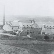 Banff distillery at Inverboyndie