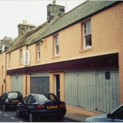 A photo of Bridge Street showing part of the old Picture House