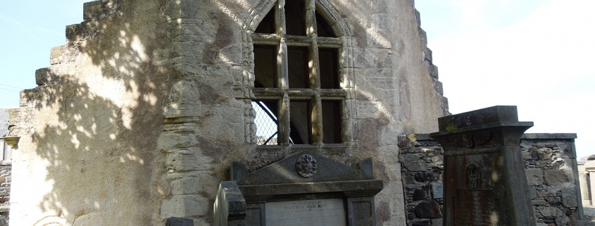 Photograph of the Chapel at St Mary's Kirkyard Banff