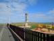 Photograph of Macduff War Memorial from playpark
