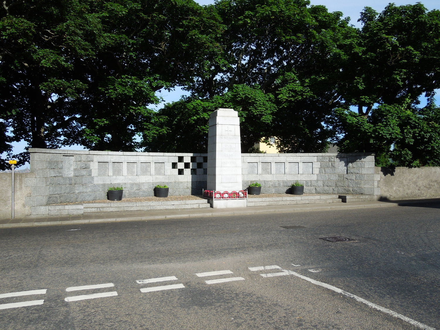 Photograph of Banff War Memorial