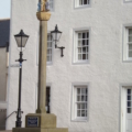 Banff mercat cross, place of proclamation and judgement