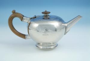 photograph of Banff Silver Teapot