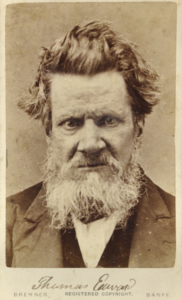 Old photograph of Thomas Edwards