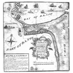a map of the River Deveron by Taylor in 1772