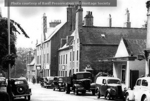 High Street Banff 1965 before Co op supermarket was built