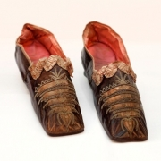 Slippers owned by Princess Pauline Borghese, Napoleon's sister, gifted to Robert Wilson.