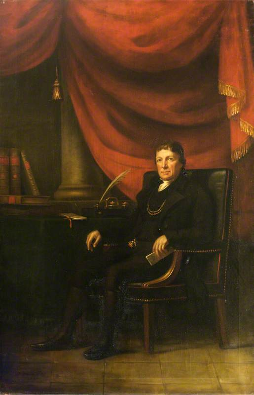 Portrait of George Robinson