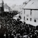 A crowded High Street Turriff in 1890