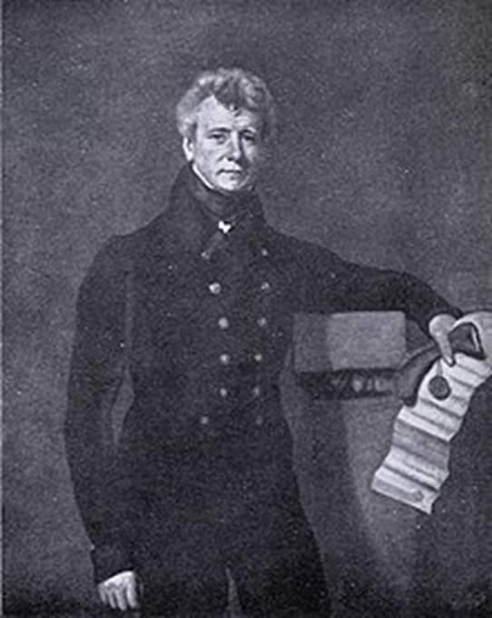 Portrait of James Grant, 1789 - 1858