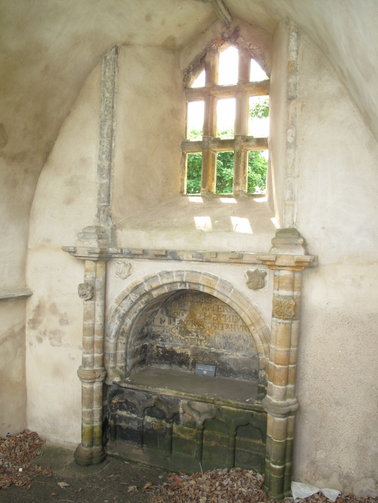 The Banff aisle, in the old kirkyard of Banff