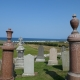 View of the Moray Firth from Boyndie Churchyard